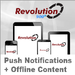 Revolution 900 White // Push Notifications // Offline Content // App-Store Apps // 5.1.0