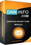 DNNInfoNV Enquiry Form v1.1.0