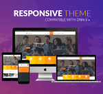 Education Theme BD007 Orange / University / Business / Mega Menu / Parallax / DNN6/7/8/9