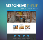 BS001 Blue Responsive Theme / Construction / Mega / Side Menu / Parallax / Slider / DNN6/7/8/9