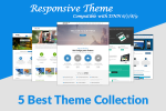 (70% SALE) 5 Top DNN Theme Collection (v.04) DNN 6.x,7.x, 8.x & DNN 9.x