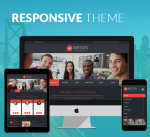 Meson 12 Colors Pack / Black / Responsive Theme / Business / Slider / Mega / Parallax / DNN6/7/8/9