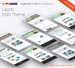 Lagos 15 Colors Theme / Responsive / Business / Mobile / Mega / Dnn 6/7/8/9 / Bootstrap 3