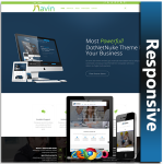 Navin Responsive Theme (1.00) / Unlimited Colors/ 700+ Google Fonts / Mega Menu / DNN 7, 8 & 9