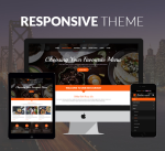 Restaurant 12 Colors Responsive Theme / Food / Cuisine / Delicious / Cafe / Parallax / DNN7/8/9
