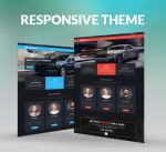 Carland 15 Colors Theme / Car / Auto / Black / Red / Responsive / Business / Mega / Parallax / DNN9
