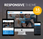 Brando 15 Colors Theme / Blue / Responsive / Business / Mega / Slider / Parallax / DNN7/8/9