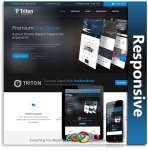 Triton Responsive Theme (1.10) / Unlimited Colors/ 700+ Google Fonts / DNN 7, 8 & 9