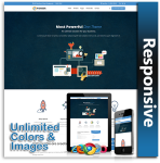Pioneer Responsive Theme (1.05) / Unlimited Colors/ 700+ Google Fonts / Mega Menu / DNN 7, 8 & 9