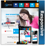 WinMetro Responsive Theme (1.07) / Unlimited Colors/ 700+ Google Fonts / DNN 7, 8 & 9
