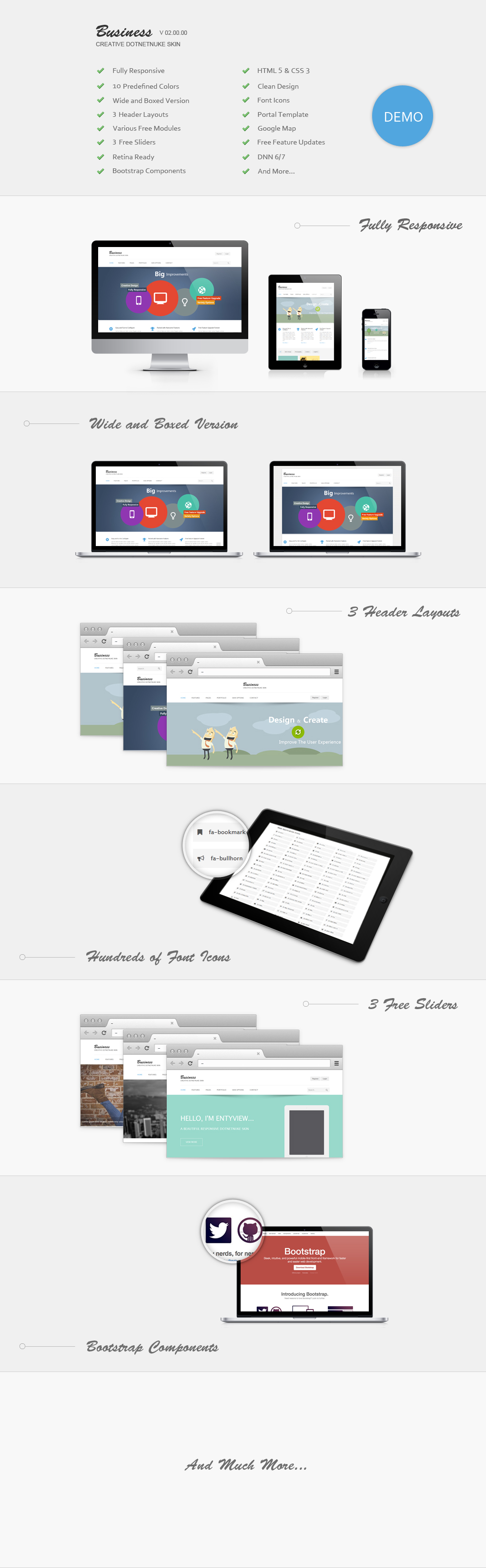 DNN Store > Home > Product Details > Business(30% OFF) // Responsive ...