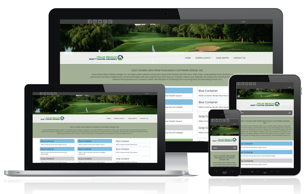 Golf Course Responsive Image