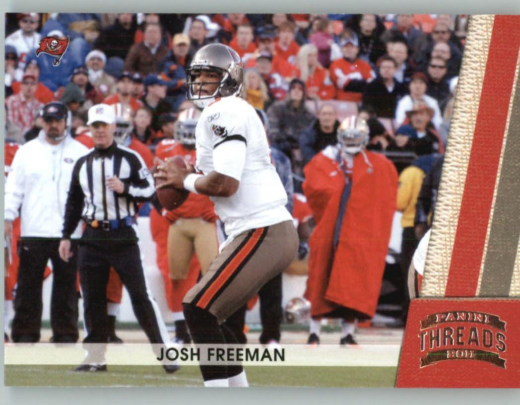 Panini Threads 2011 Panini Threads Football Card # 138 Josh Freeman - Tampa Bay Buccaneers at Sears.com