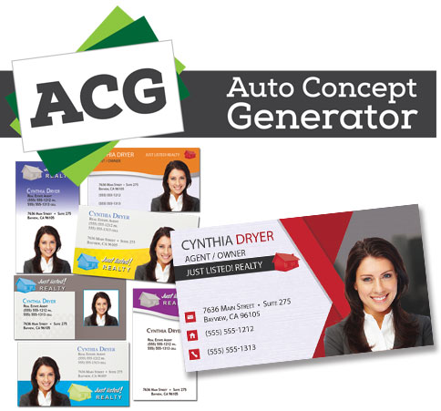 Business Card Auto Concept Generator