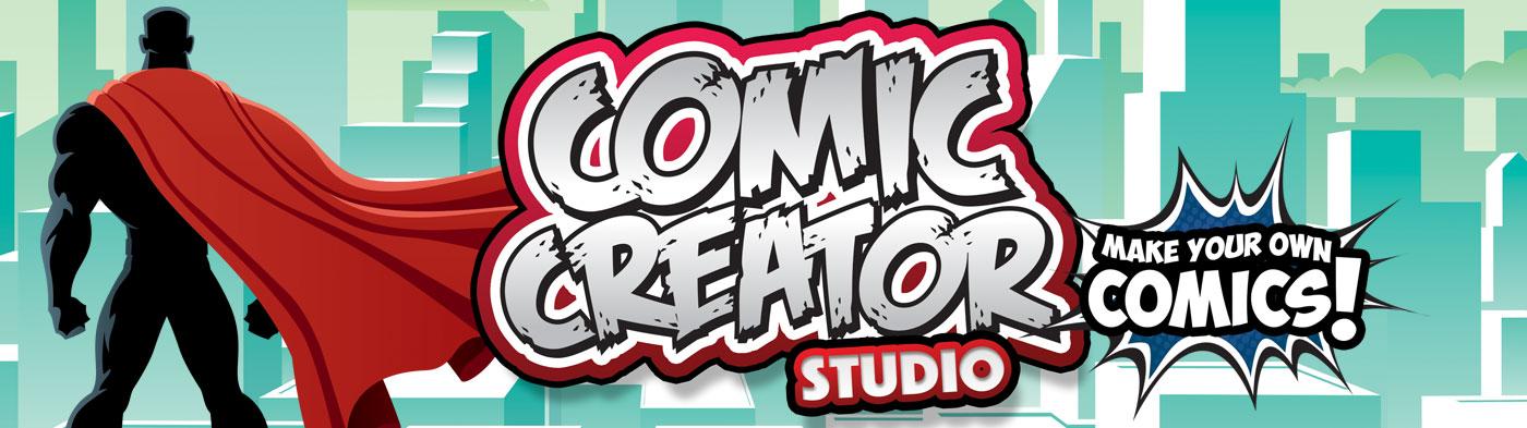 Comic Creator -title logo