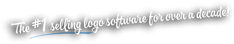 #1 selling logo software for over a decade
