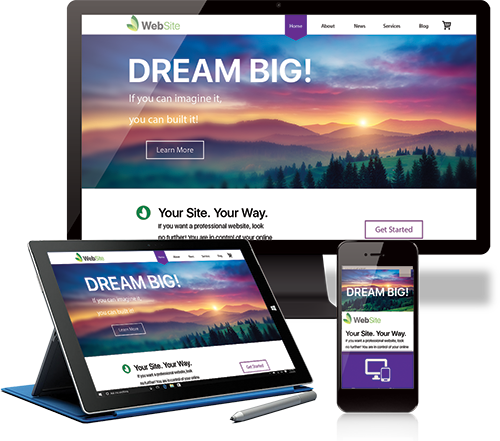 Website Creator 12 - Dream Big