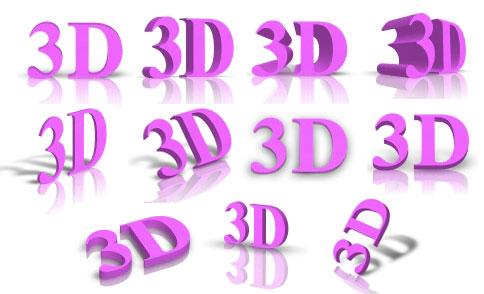 3D Text Studio - 11 Styles