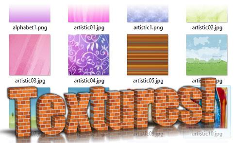 3D Text Studio - Textures