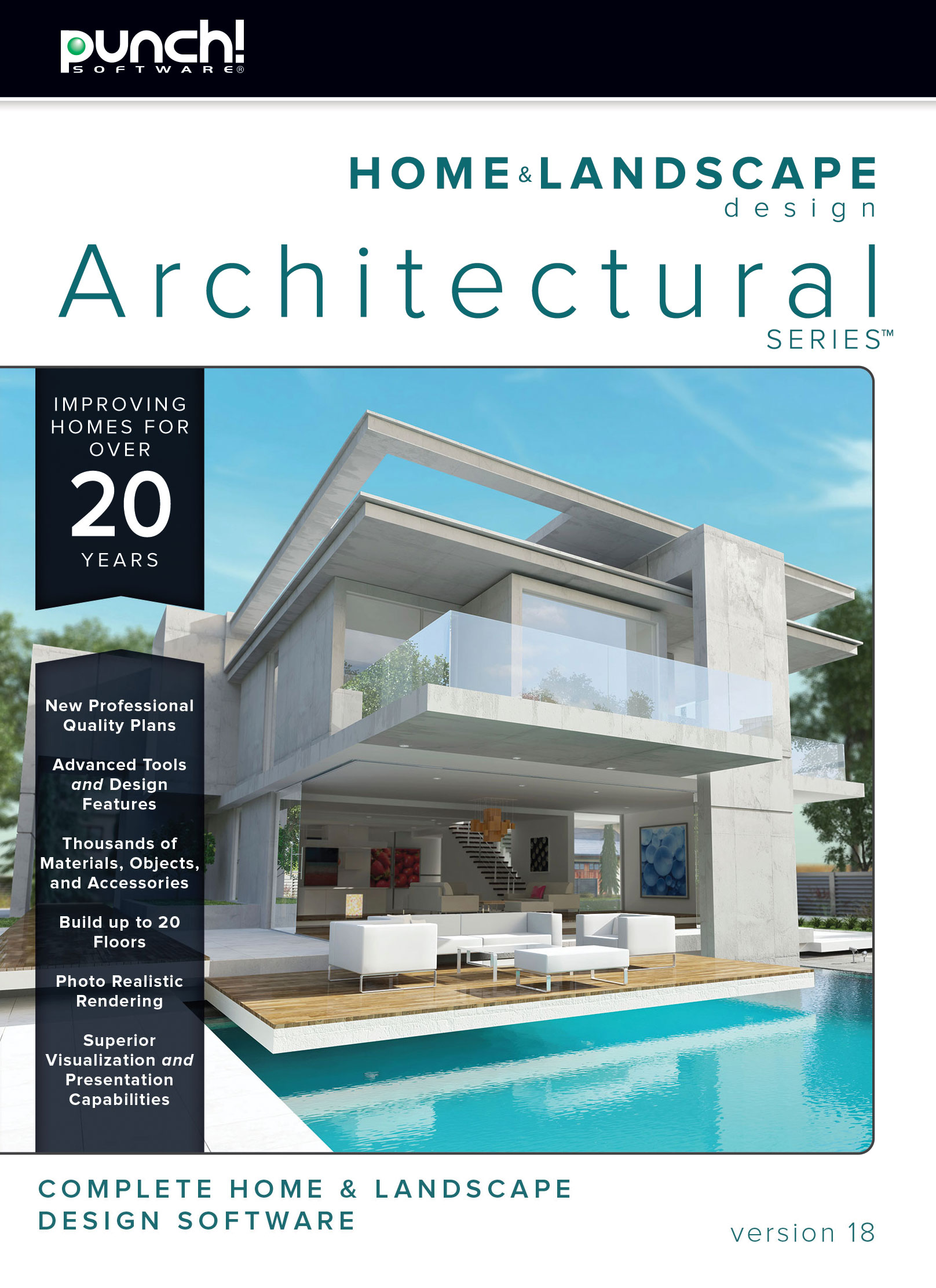 Punch! Home & Landscape Design Architectural v18 | #1 Selling Logo ...