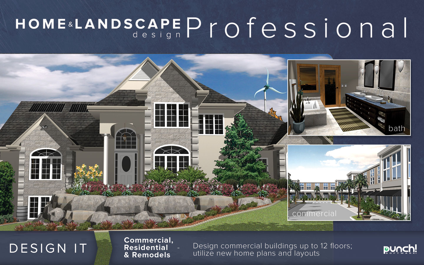 Punch! Home & Landscape Design Professional v18 | #1 Selling Logo ...