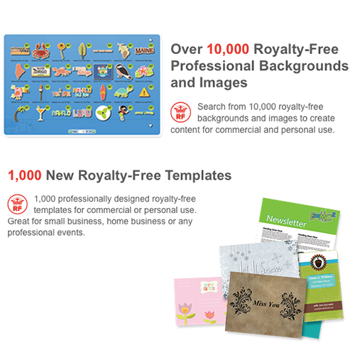 Print Shop Pro Templates