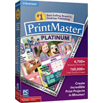 Box Shot - PrintMaster Platinum V7