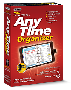anytime organizer deluxe box
