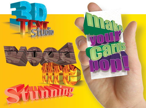 3D Text Studio Included