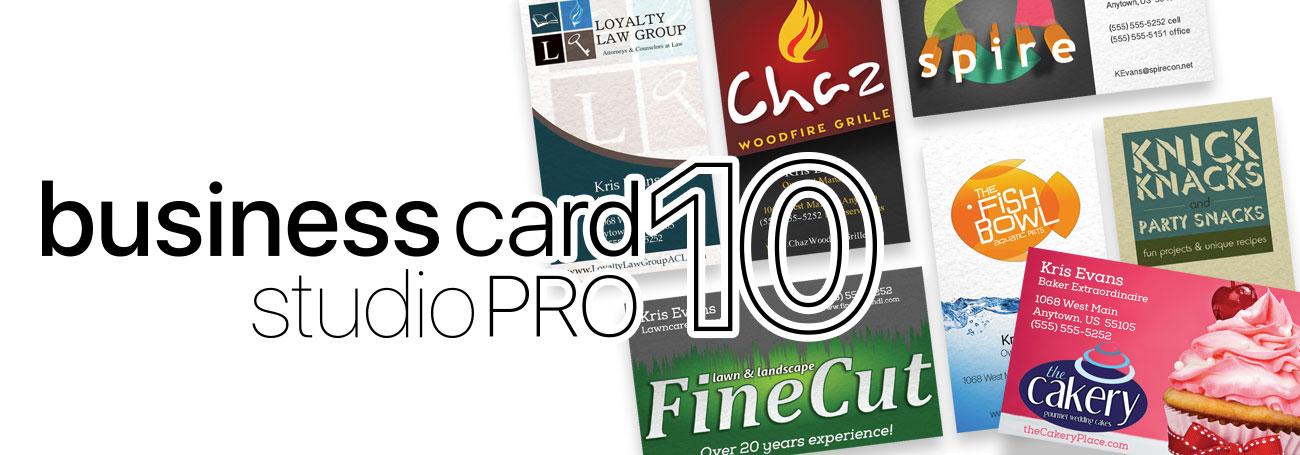 Business Card Studio 10