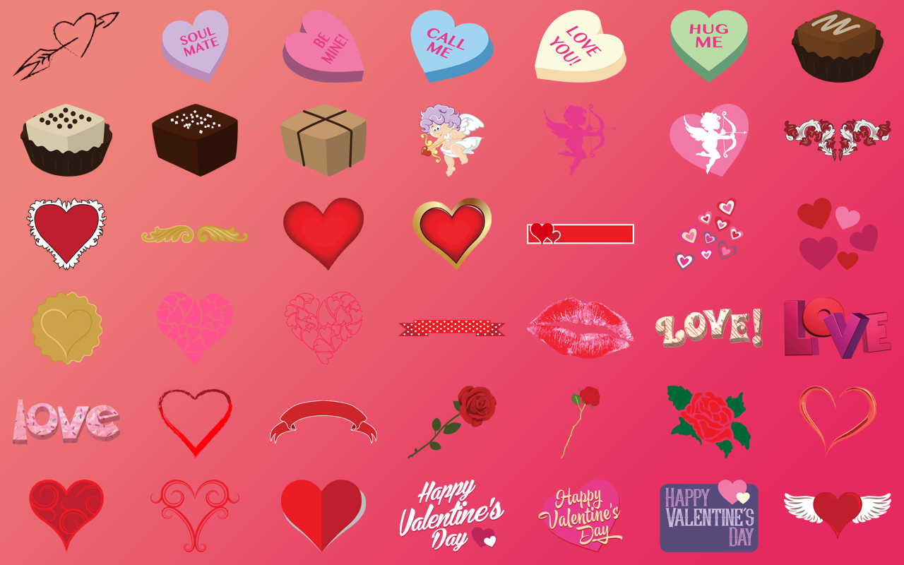 Creative Fonts Valentines Samples 3