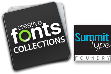 Creative Fonts by SummitType Foundry
