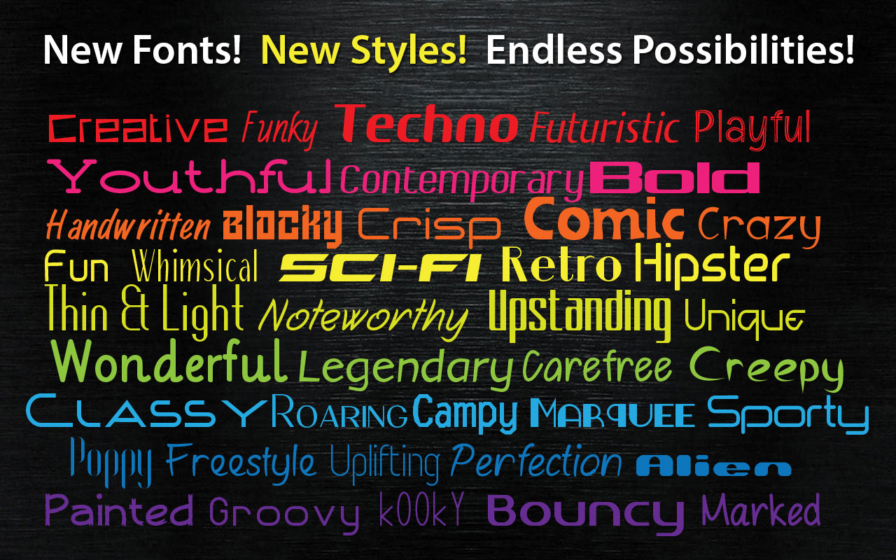 Font Pack Pro Master Collection - sample 3