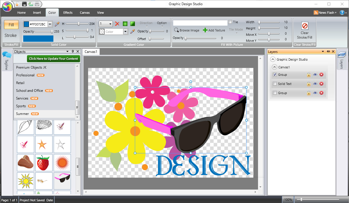 Graphic Design Studio   Layers