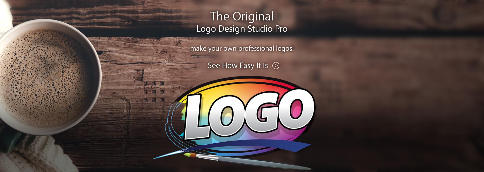 The Original Logo Design Studio Pro