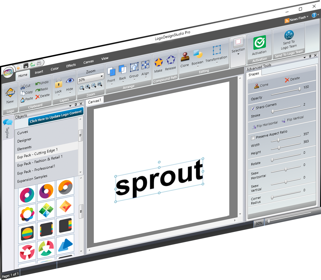 Logo Design Studio Pro - logo creation 1