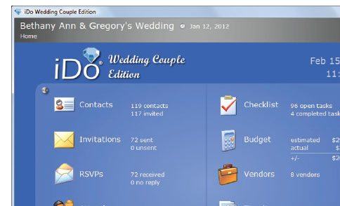 My Perfect Wedding Planner - plan every detail