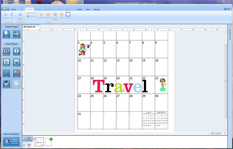 Screenshot Calendar