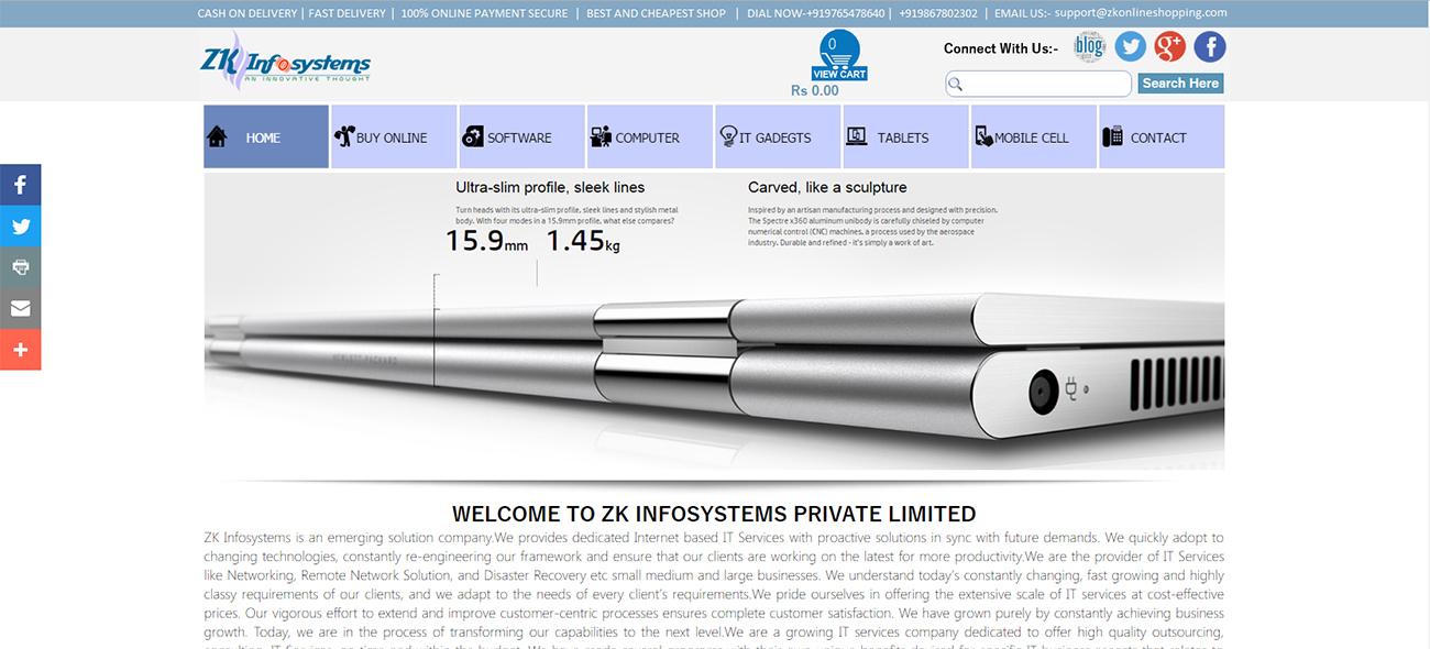 Website Creator - website sample 5