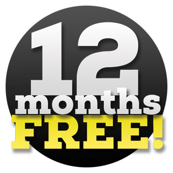 1 year free hosting