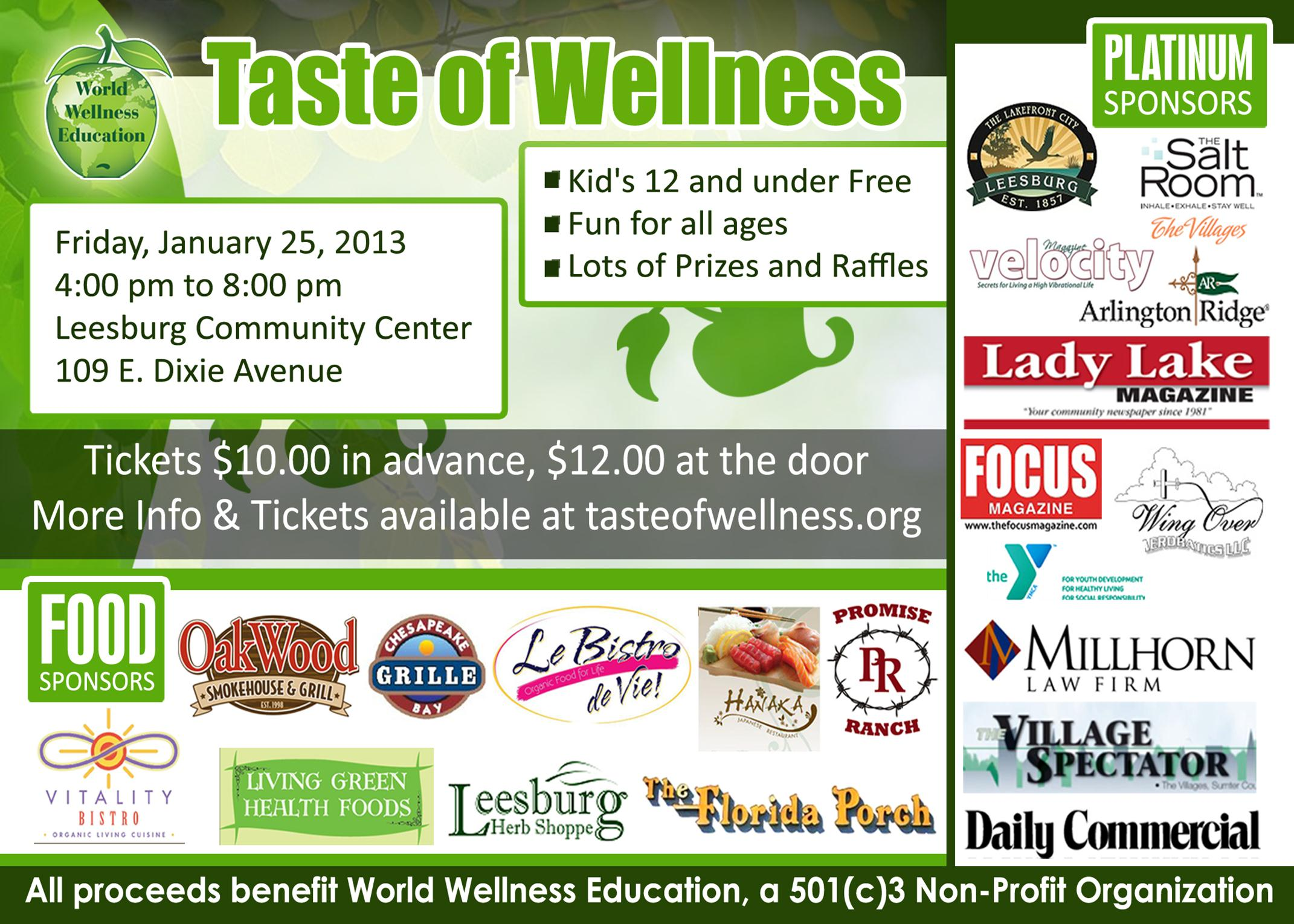 Taste of Wellness 2013