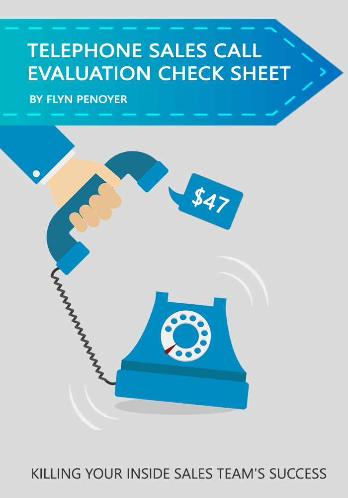 Telephone Sales Call Evaluation Check Sheet