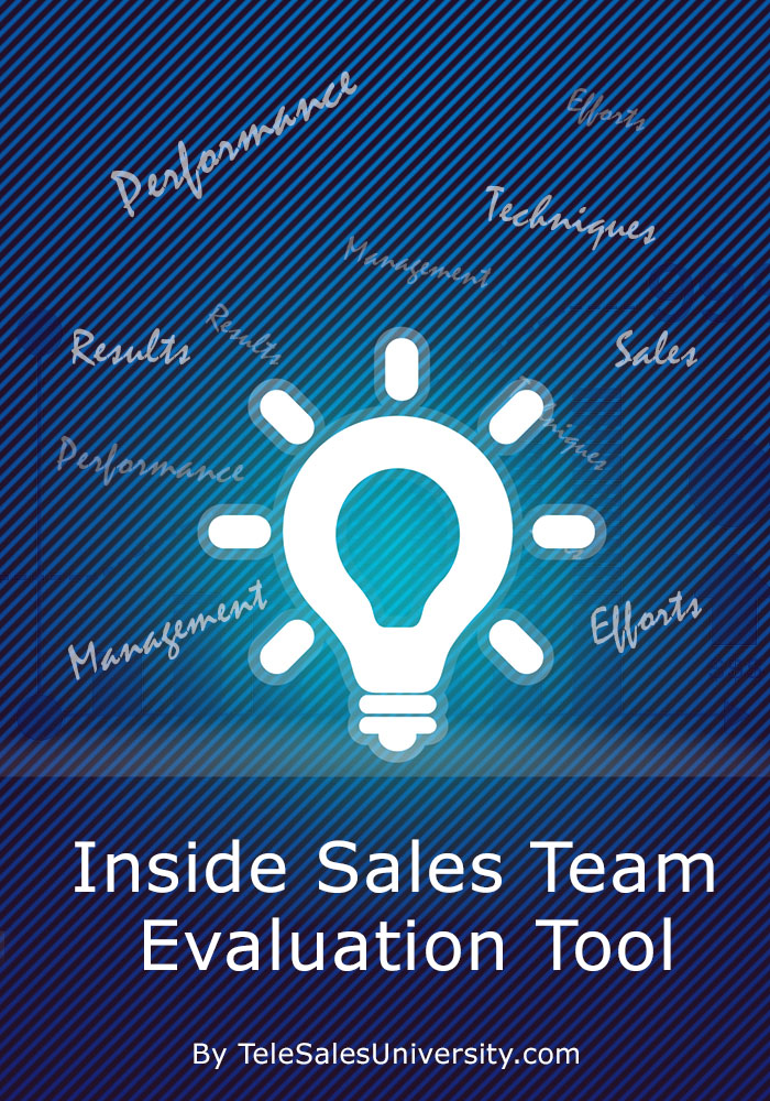 Inside Sales Team Evaluation Tool