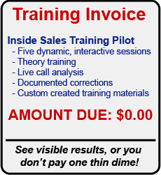 Inside Sales Training Success