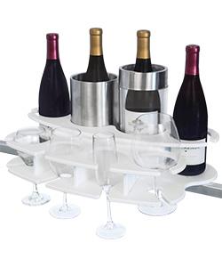 Rail Mount Wine Bar