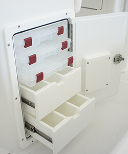 3 Tray 2 Drawer with Dividers
