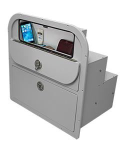 Crest Drawer Unit Open Glovebox