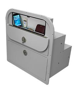 Crest Tackle Storage Unit with Glovebox Open