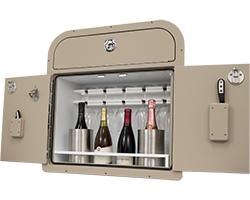 Crest Wine Cabinet