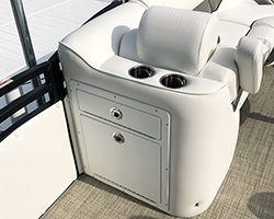 JC Tilt-Out Trash Can Closed in Cushion